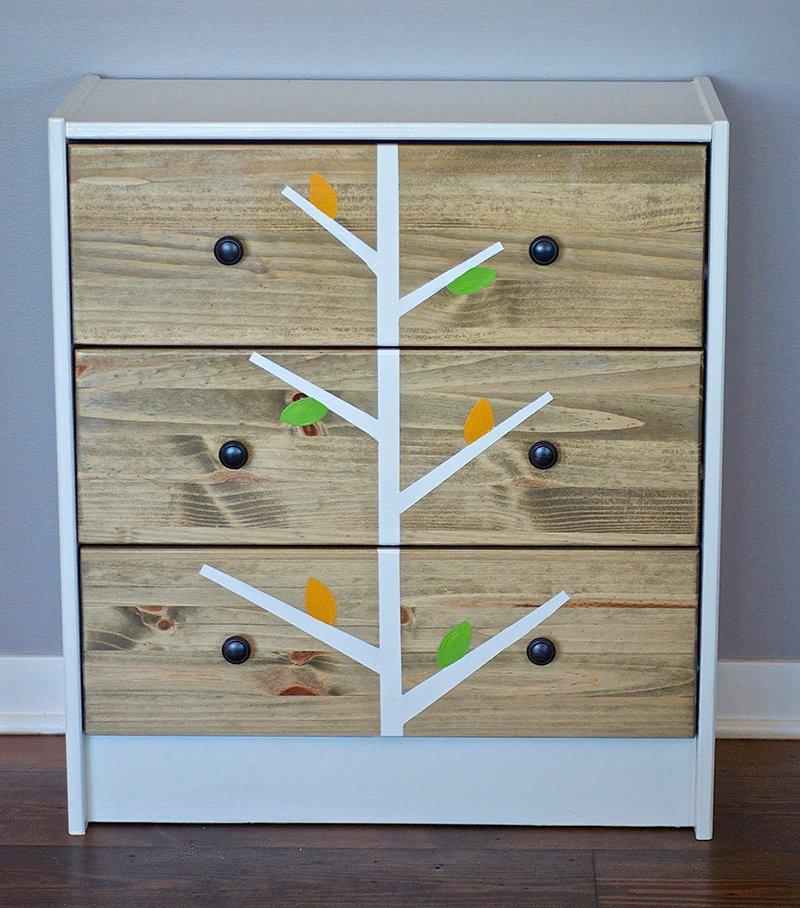 Ikea Rast Dresser redesign