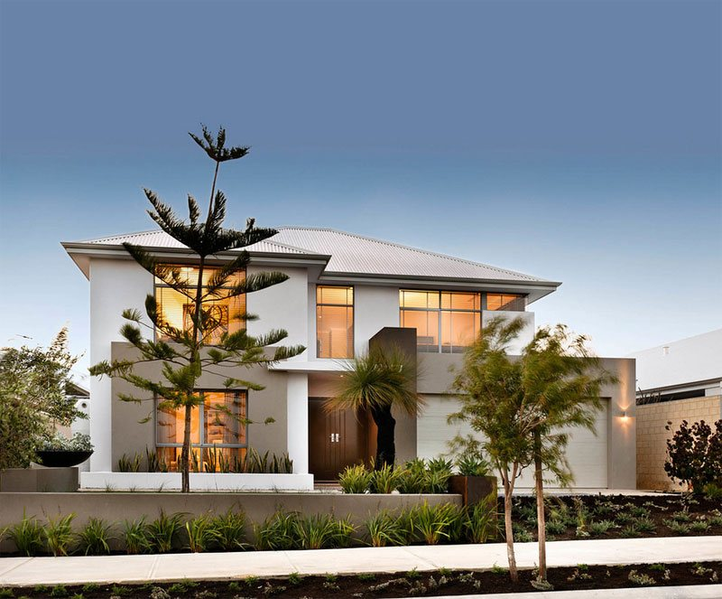 contemporary facade