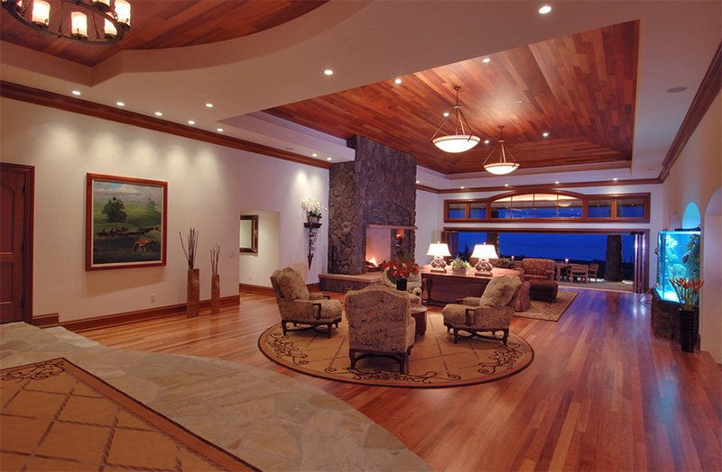23 Living Rooms with Wooden Ceilings Exuding a Warm Aura Home