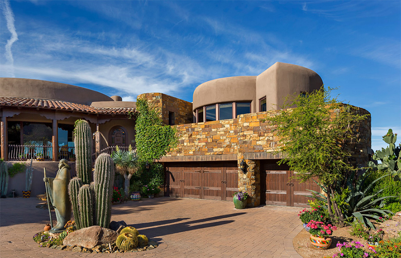22 Earth Toned Southwestern Houses Inclined To Nature Home Design Lover