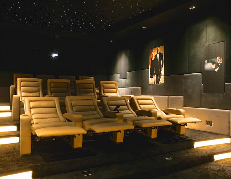 leather cinema chairs