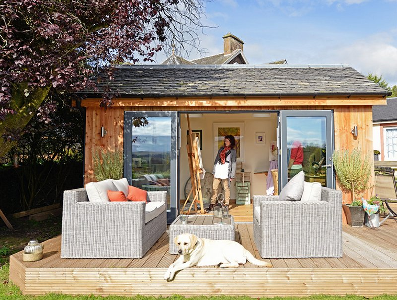 23 Impressive Contemporary Garden Shed Designs Home Design Lover