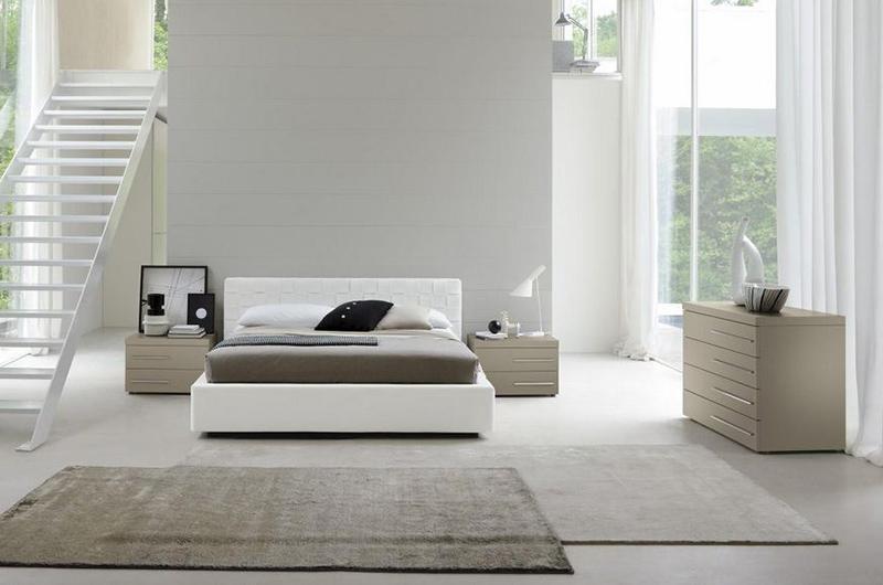 Modern White Furniture 20 crisp modern condo bedroom furniture for uncluttered look