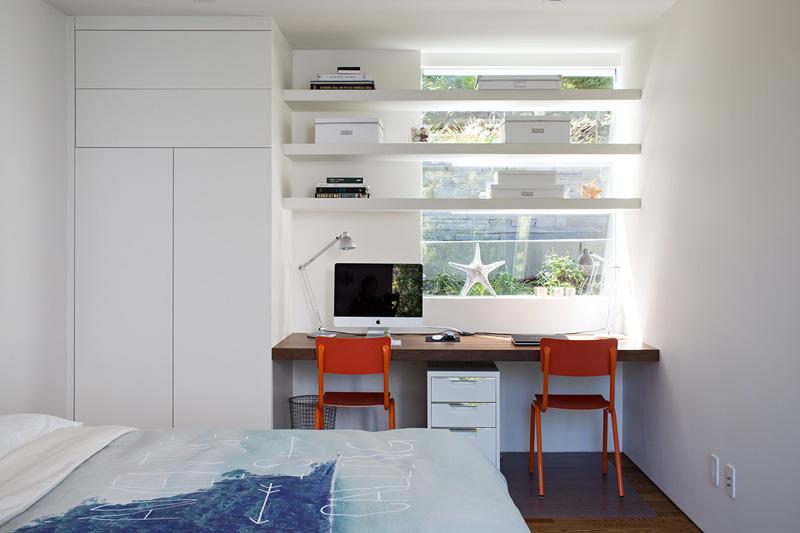 California Addition teen bedroom