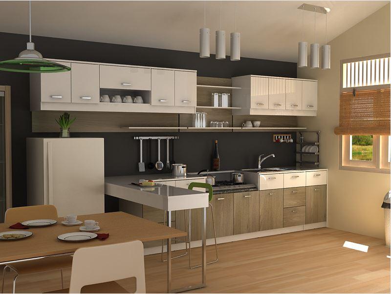 3. Modern Small Kitchen