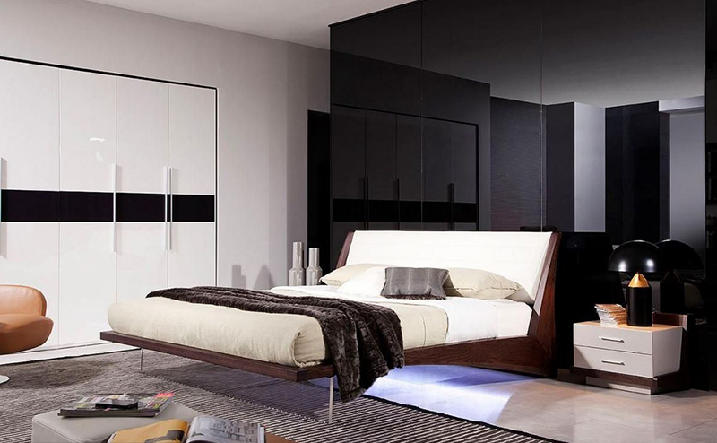 20 crisp modern condo bedroom furniture for uncluttered for Condo furniture ideas