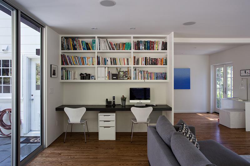 California Addition bedroom