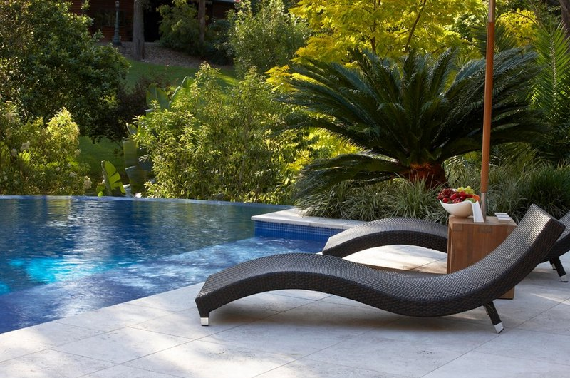 contemporary pool chairs