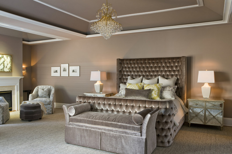 Master Bedroom Paint Ideas 2017 25 contemporary bedrooms with stunning crystal chandeliers | home
