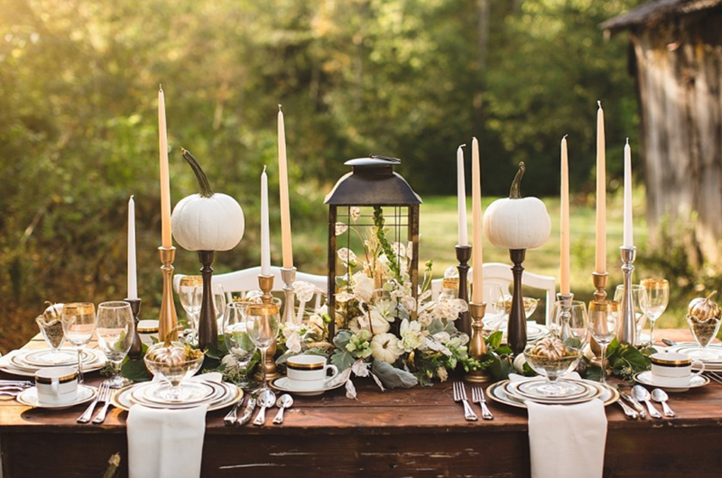 20 fall themed tablescapes to amaze dining guests | home design lover