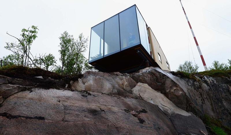 Manshausen Holiday Huts design