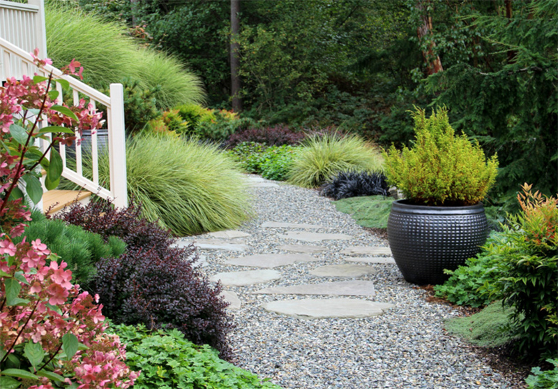 Landscaping Ideas Stone : Stone pathways landscaping ideas for your garden home