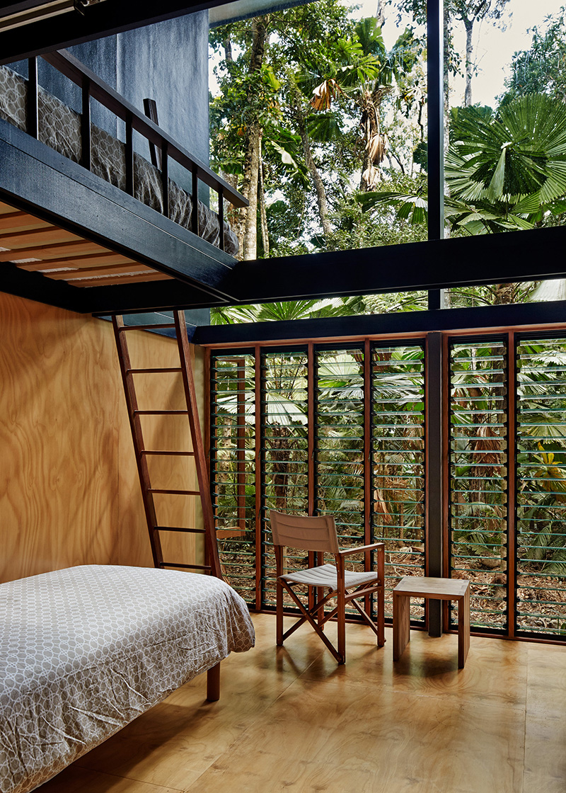 Rainforest Bedroom Cape Tribulation Home A Dwelling In A Tropical Rainforest Of