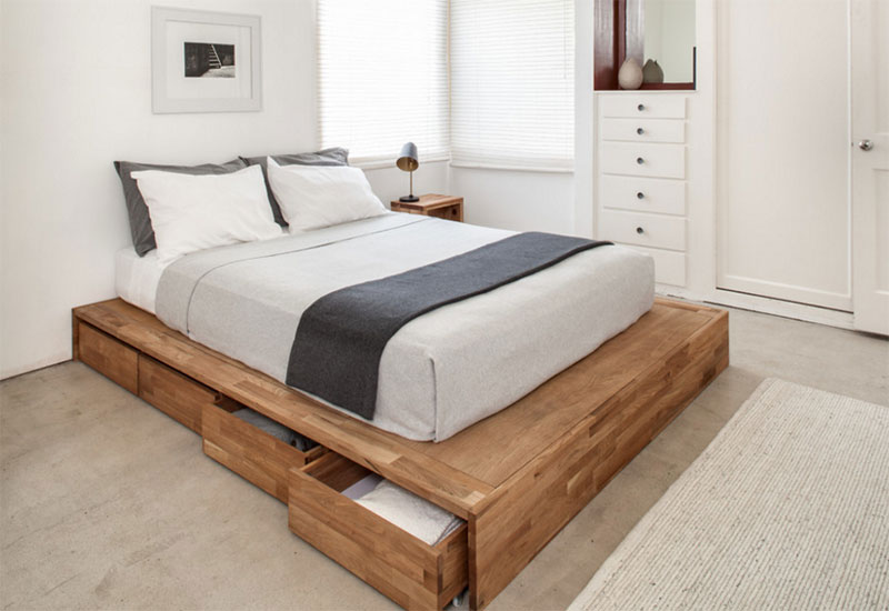 25 Modern And Contemporary Bed Storage Ideas With Drawers Home Design Lover