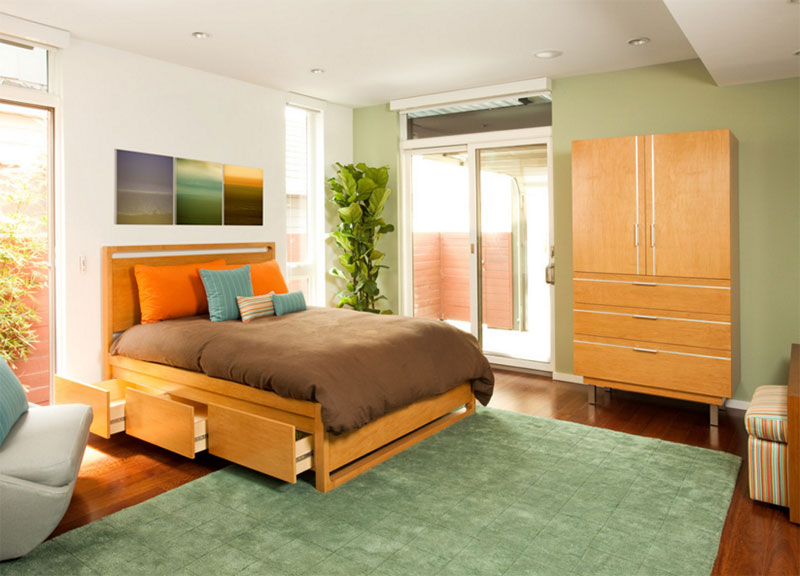 Living Homes. 25 Modern and Contemporary Bed Storage Ideas with Drawers   Home