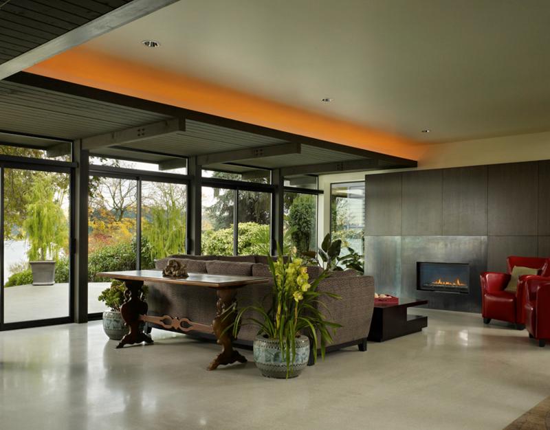 contemporary indoor planters