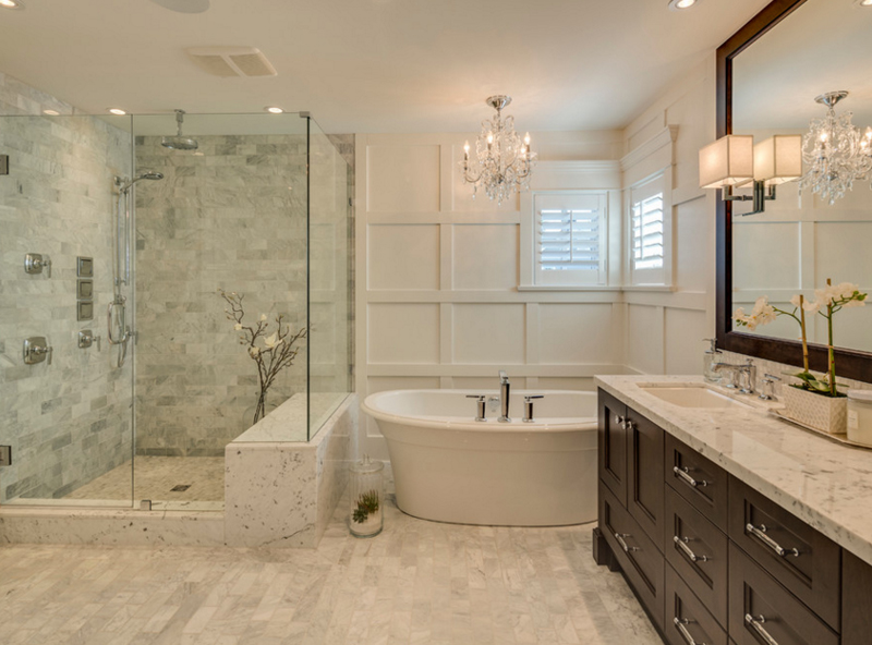 West Class. 20 Gorgeous Bathroom Crystal Chandeliers   Home Design Lover
