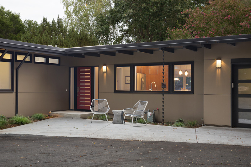 Midcentury Remodel out