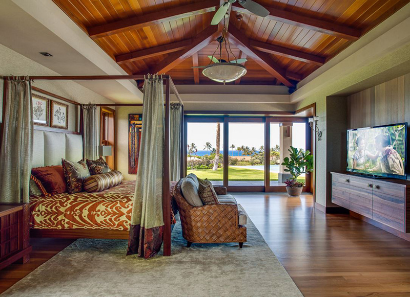 20 tropical bedroom furniture with exotic allure home for Bedroom furniture hawaii