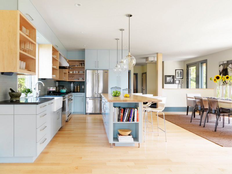 20 charming vintage lighting over kitchen table home design lover for Prairie style kitchen design