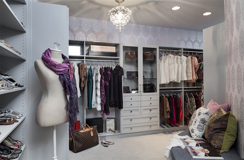 Forest Hills Residence   Her Closet