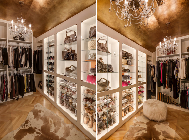 25 Contemporary Walk In Closets Every Woman Dreams To Own