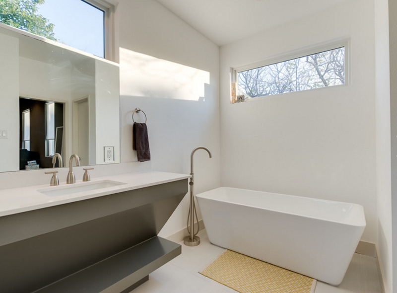 Contemporary Bathrooms With Vaulted Ceiling Home Decoration - Contemporary bathrooms vaulted ceiling