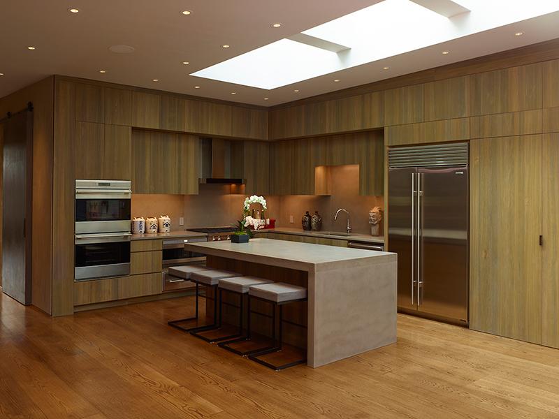 West 27 penthouse kitchen