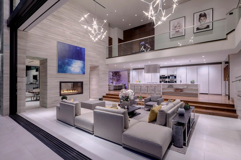 Hollywood Hills Home elevated kitchen