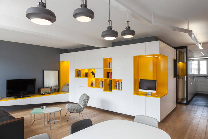 Father and Son Apartment in Paris