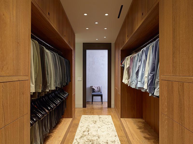 West 27 penthouse wardrobe
