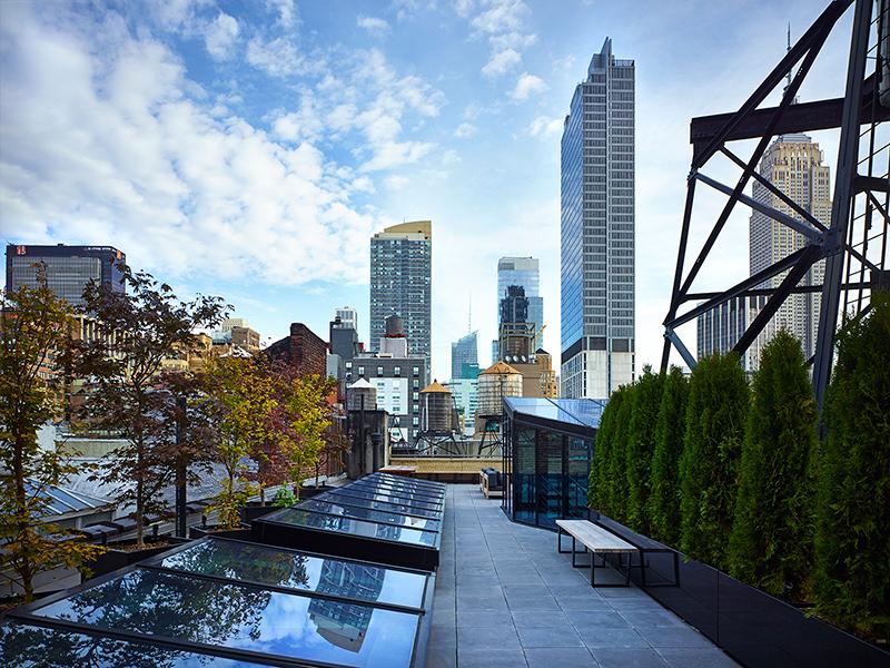 West 27 penthouse roof deck