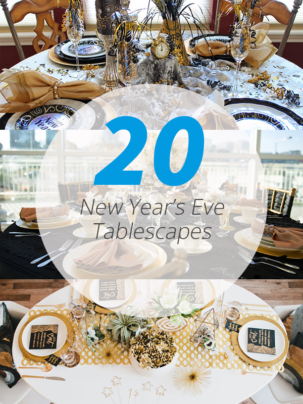 NYE tablescapes