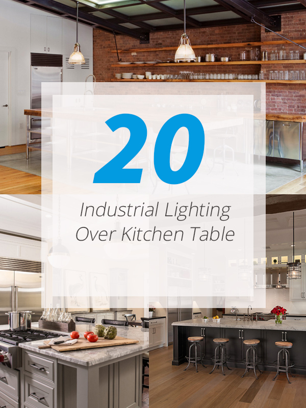 industrial light kitchens