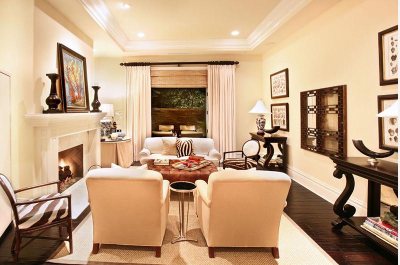 accentuated furniture