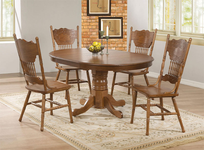20 perfectly-shaped oval pedestal table for your dining area
