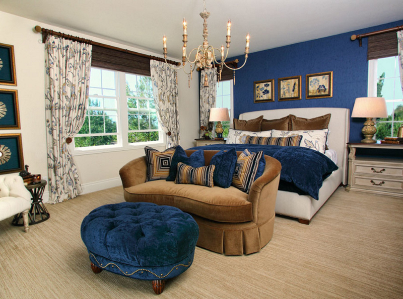 Bedroom Decor Blue And Gold simple bedroom decor blue and gold bedrooms ideas on pinterest