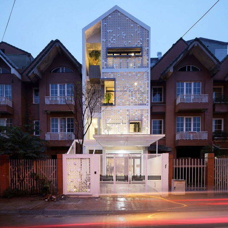 Cocoon Home\'s Facade in Vietnam ~ HOME DESIGN LEARN
