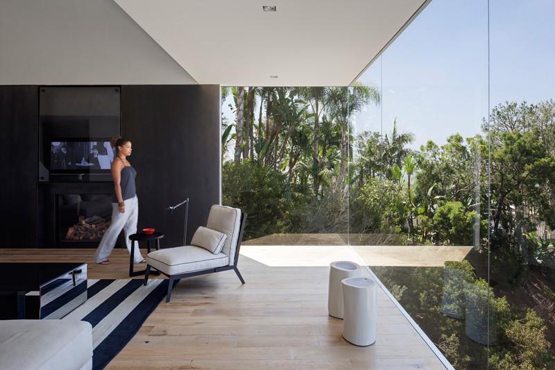 Los Angeles Contemporary House outdoor