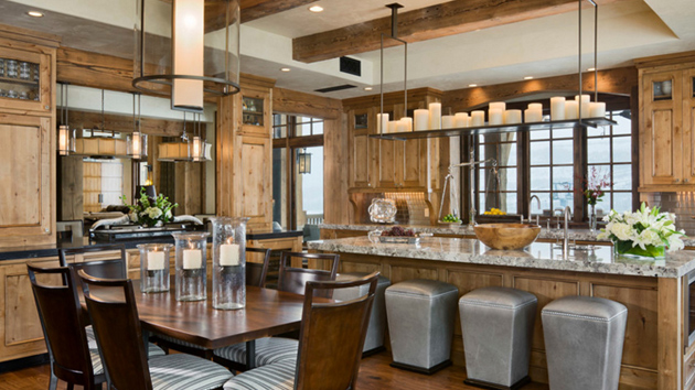 20 Unique Designs of Candle Chandeliers in the Kitchen Home
