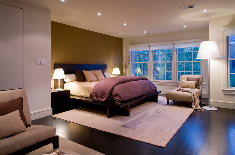 contemporary floor lamps in the bedroom  home design lover, Bedroom decor