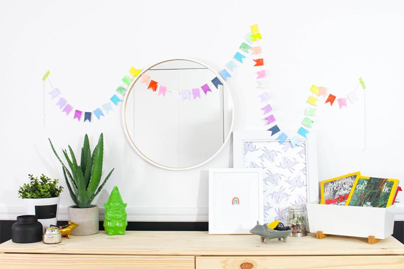 Lucky Rainbow Banner DIY
