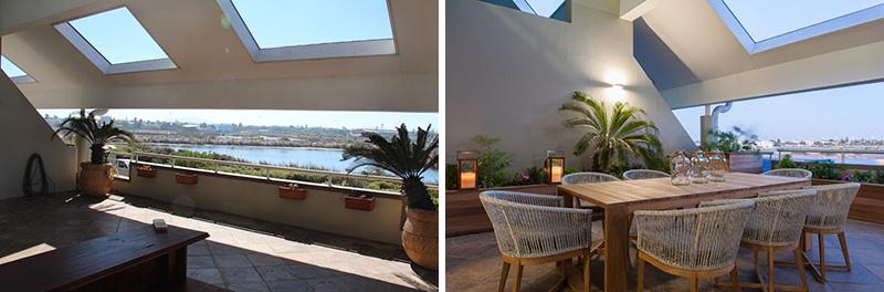 Patio Onnah Design planters