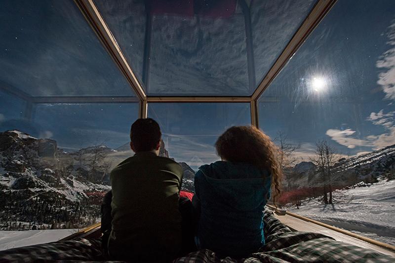 Starlight Room cabin romantic