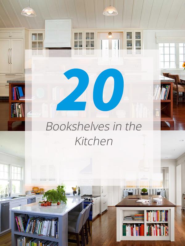 bookshelves kitchens
