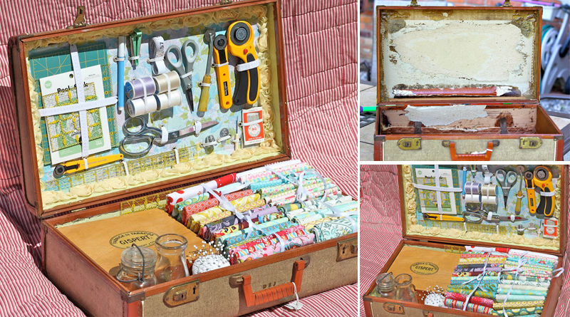 Vintage Sewing Case
