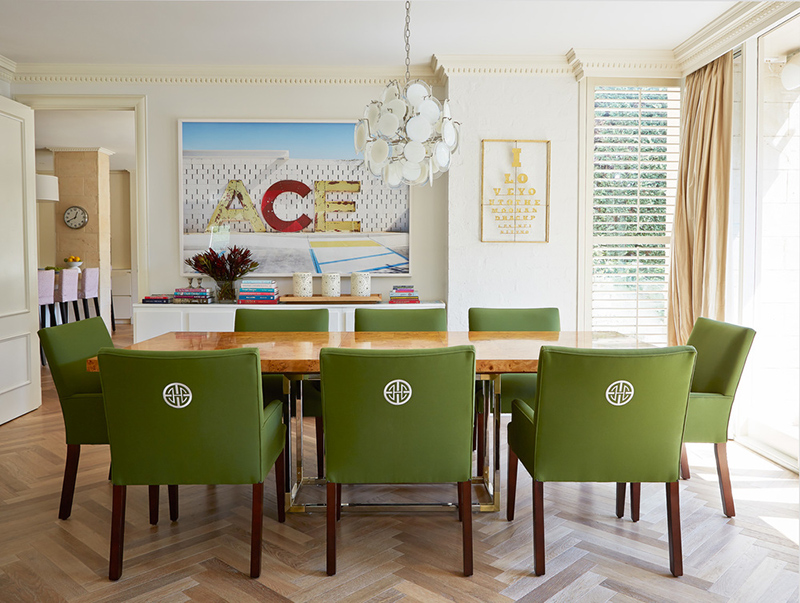 22 contemporary dining areas with green dining chairs | home