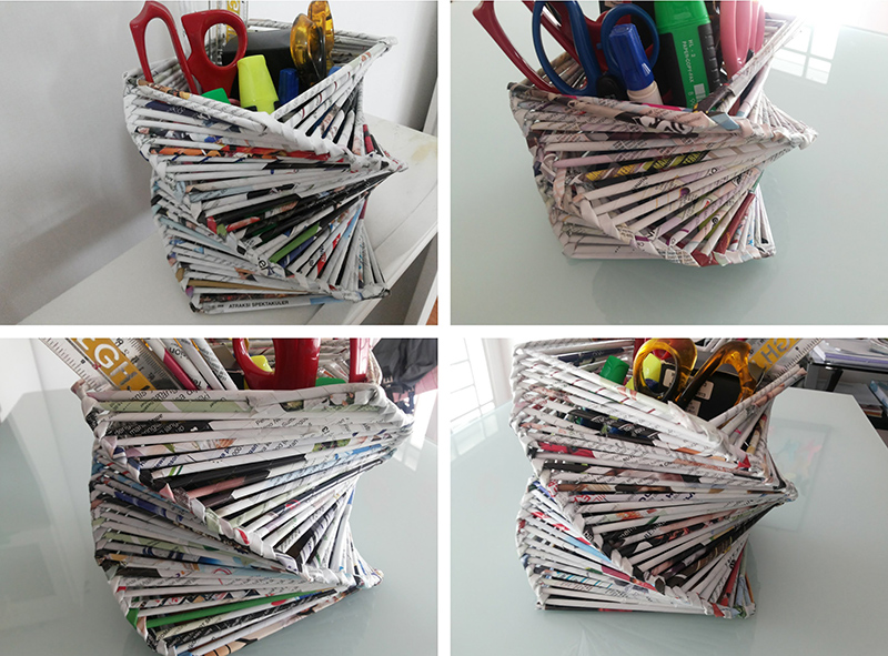 Diy Room Or Home Decoration Recycled Old Magazine