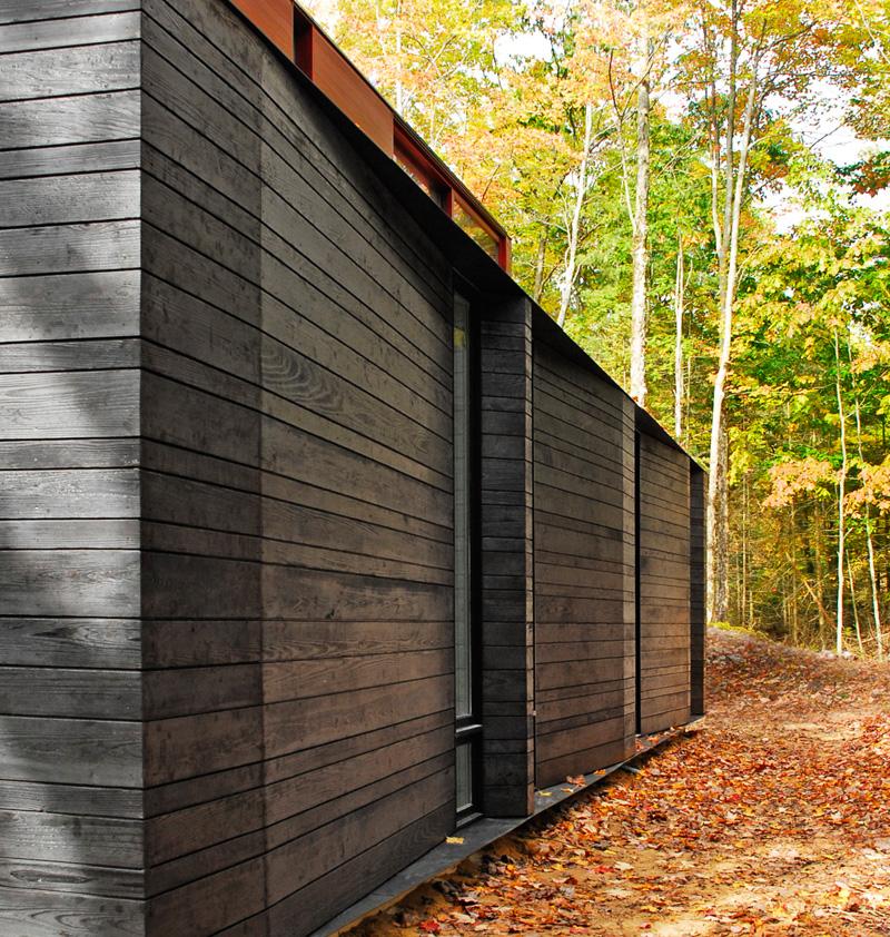 Pleated House cedar