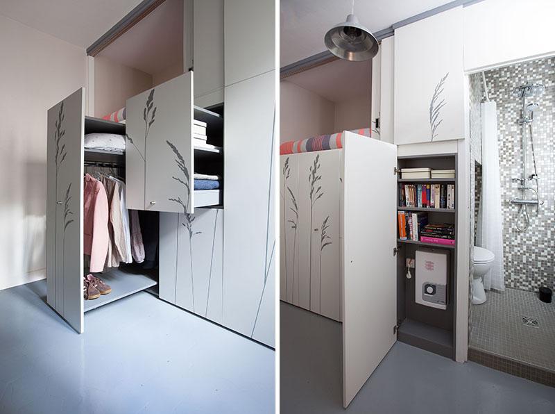 KITOKO Studio Apartment storage